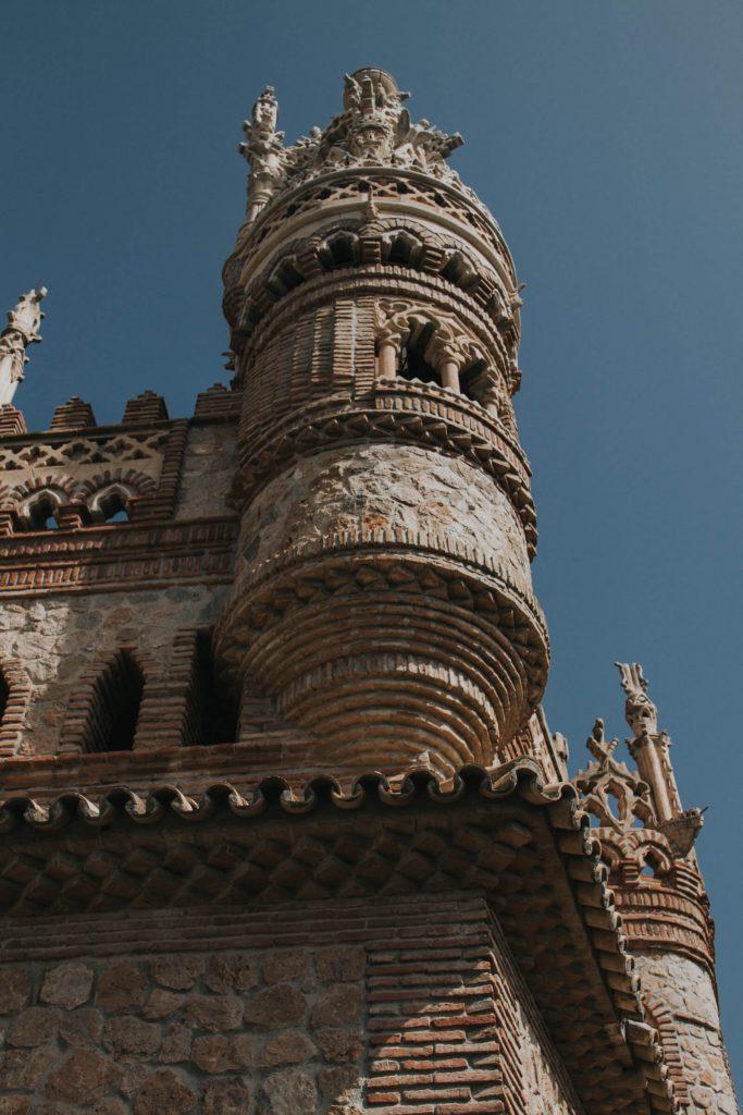 Turret on Castillo De Colomares