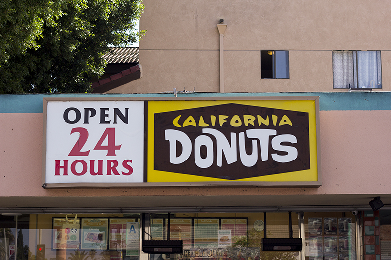 Places to eat in Los Angeles
