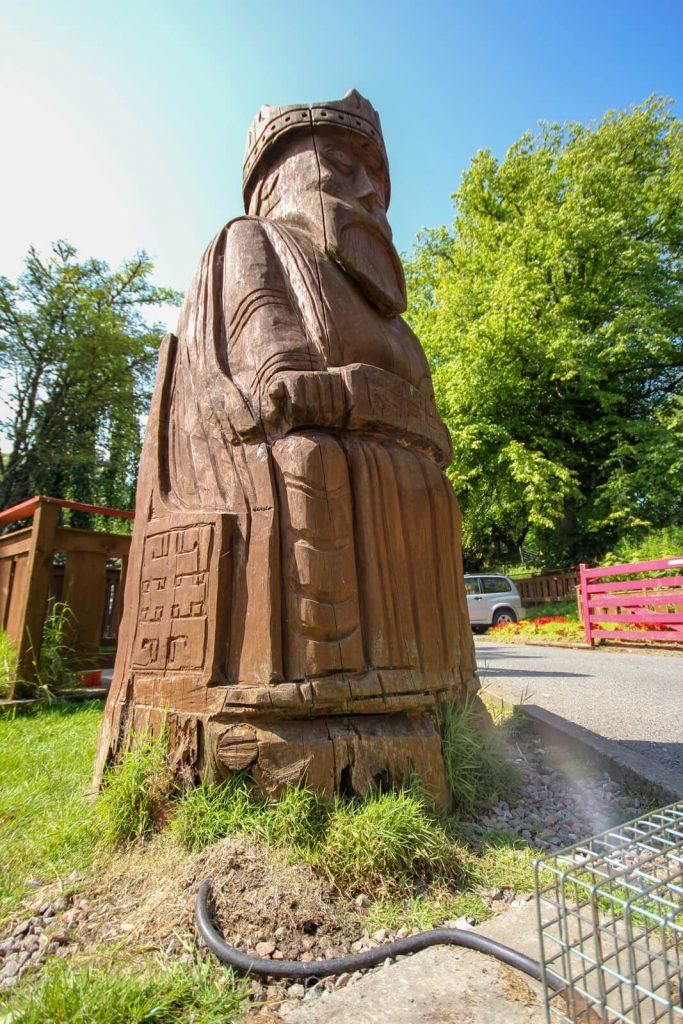 Chessmen Statue
