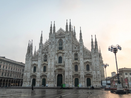 Sunrise at the Duomo