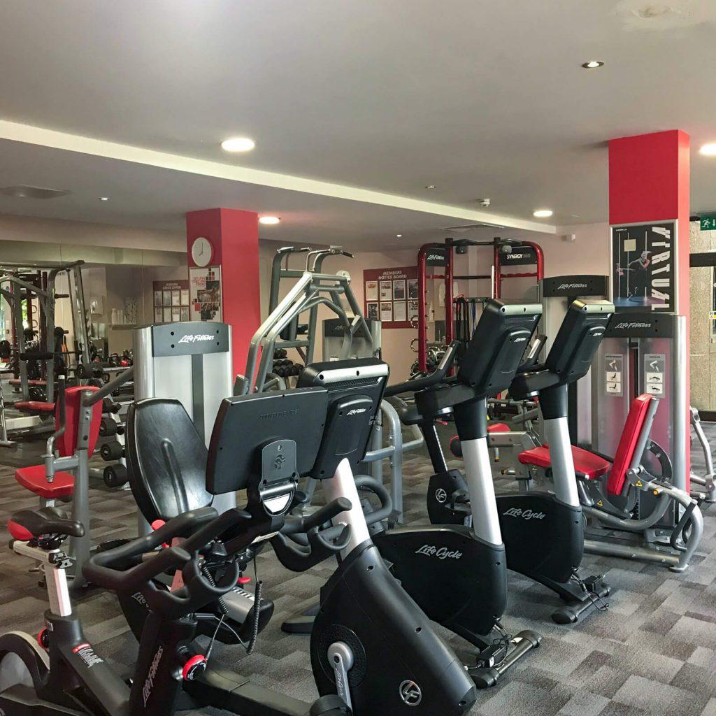 Gym at Macdonald inchyra